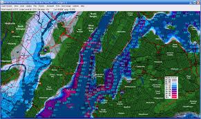 Hudson River Map Hudson River Depth Map Karmaboxers