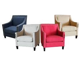 Nailhead Accent Chair Nailhead Accent Chair Aifchairs4colors Facil Furniture