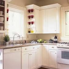 Simple Design Of Small Kitchen Kitchen Room White Granite Colors Kitchen Tile Backsplash Ideas