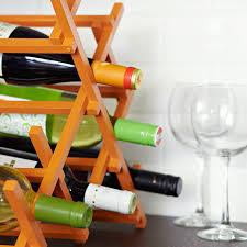 countertop wine rack
