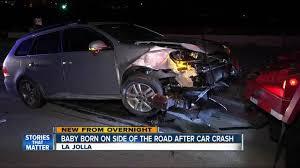 baby born on side of la jolla area road after suv crash 10news