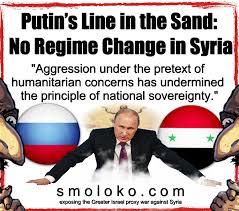 Syria Meme - putin no regime change in syria jew world order