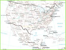 Map Of Mexico States And Cities by Usa And Mexico Map Throughout Of United States Mexico With Cities