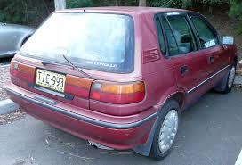 1992 toyota corolla 5 doors partsopen