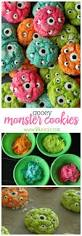 gooey monster cookies