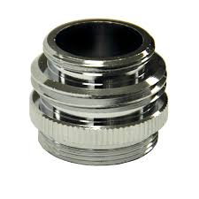 shop danco chrome standard adapter at lowes com
