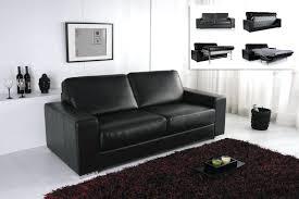 trou canap cuir trou canape cuir canape convertible modulo cuir noir with canap