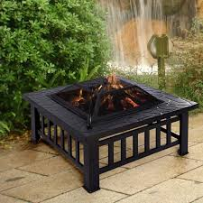 Fire Pit Insert Square by Square Metal 32