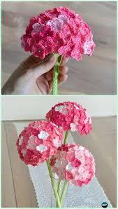 Free Pattern For Crochet Flower - crochet 3d flower bouquet free patterns crochet crochet flowers