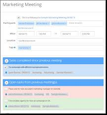 new in meetingking powerful task management