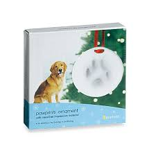 pawprints ornament bed bath beyond