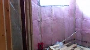 basement update 1 insulation and vapour barrier youtube