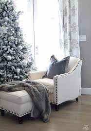 White Bedroom Tour Decked U0026 Styled Holiday Tour A Christmas Bedroom Zdesign At Home