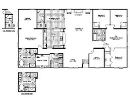 4 5 Bedroom Mobile Home Floor Plans by Mobile Home Floor Plans Houses Flooring Picture Ideas Blogule