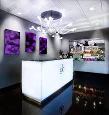 Small Salon Reception Desk by Meet The Naha Finalist Salon Glo Design News Salon Design