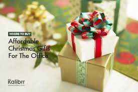 where to buy affordable christmas gifts for the office kalibrr