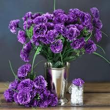 purple carnations 252 carnation flowers purple silk flowers factory