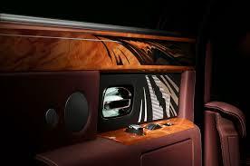 rolls royce gold interior rolls royce travel phantom gets fancy woodwork motor trend