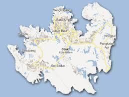 map batam batamfun traveling the island