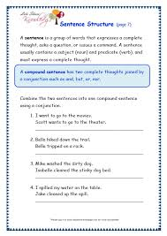 pattern worksheets sentence pattern worksheets with answers