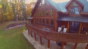 exceptional log home acreage and waterfront on vimeo