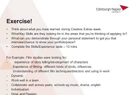creative extras personal statement mairi taggart creative extras