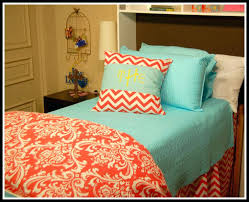 Monogrammed Comforter Sets Coral Colored Quilts U2013 Co Nnect Me