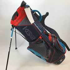 sun mountain kg 2 blue red stand bag