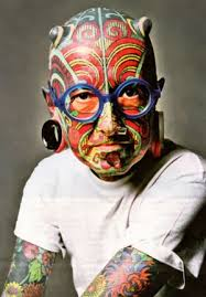 10 most strangest people tattoo piercing in the world top best
