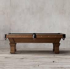 restoration hardware pool table brunswick vintage 1906 billiards table billiards pinterest