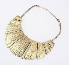 necklace metal images New metal necklace exaggerated necklace metal necklace bib jpg