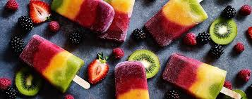 ices cuisine striped fruit ices asda living