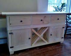 Wooden Buffet Table by Fabulous Folk Art I Love The Color Of The Buffet Diy Home