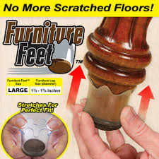 Hardwood Floor Furniture Grippers by Furniture Feet Size Large Asseenontv Com Store