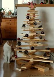 diy weihnachtsstadt weihnachtsdeko und ein weihnachtsbaum aus
