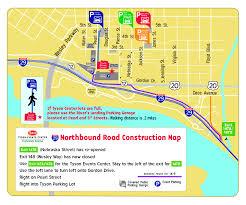 Nebraska On A Map Parking Information Tyson Events Center