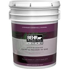 Behr Paint Colors Interior Home Depot Behr Premium Plus Ultra 1 Gal 22 Navajo White Eggshell Enamel