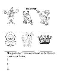 ow words worksheet by groov e chik teaching resources tes
