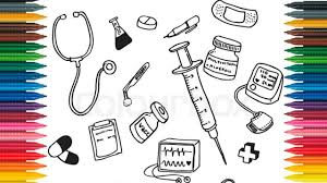 draw first aid kit learn colors with kit drawing medical kit