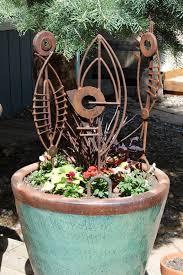 Metal Bugs Garden Decor Garden Art Metal Sphere 14