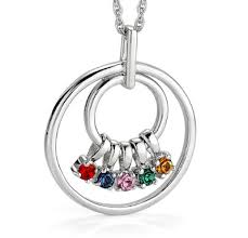 grandmother s necklace birthstone necklace for 10 personalized necklaces with