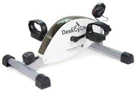under desk foot exerciser amazon com deskcycle desk exercise bike pedal exerciser white