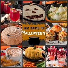 appetizers for halloween fun fall recipes 141 easy recipes for halloween mrfood com