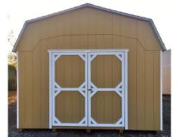 12x20 dutch barn loft u0026 shelves inside pine creek structures
