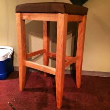 How To Make An Armchair How To Make A Bar Stool Youtube