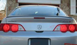 amazon com acura rsx trunk lip spoiler 700814236281 automotive