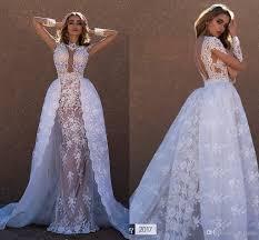 cheap online wedding dresses discount 2017 lace detachable wedding dresses lining bridal