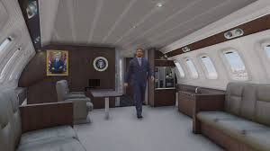 air force one interior air force one boeing vc 25a enterable interior add on gta5
