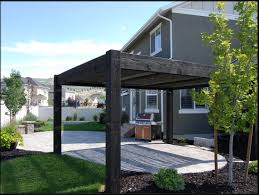 Louvered Roof Pergola by Texas Unique Plan For Cedar Diy Timber Frame Pavilion Kit
