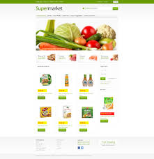 web templates website templates directory listing website theme online supermarket virtuemart template 45942